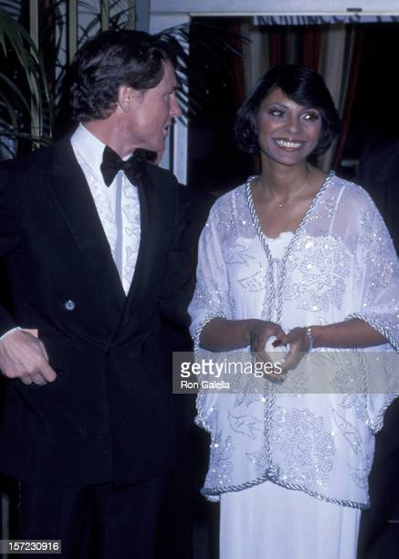 Actress Leslie Uggams and husband Grahame Pratt attend 35th Annual Golden Globe Awards on January 28 1978 at the Beverly Hilton Hotel in Beverly...