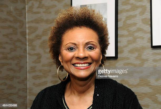 Actress Leslie Uggams attends Black History Month In Conversation With Stewart Lane Leslie UggamsTom Santopietro and Sheldon Epps at Barnes Noble...
