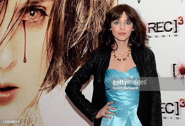Actress Leticia Dolera attends a movie premiere of 'Rec 3 Genesis' at the Gran Via 2 Cine on March 28 2012 in Barcelona Spain