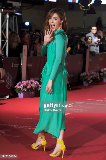 Actress Leticia Dolera attends the 'Malaga Hoy' award during the 21th Malaga Film Festival at the Cervantes Theater on April 16 2018 in Malaga Spain