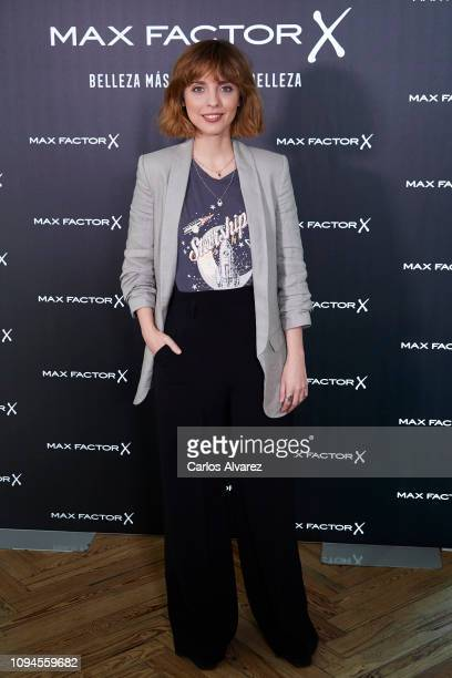Actress Leticia Dolera attends the new Max Factor campaign presentation at the Allard Club on January 15 2019 in Madrid Spain