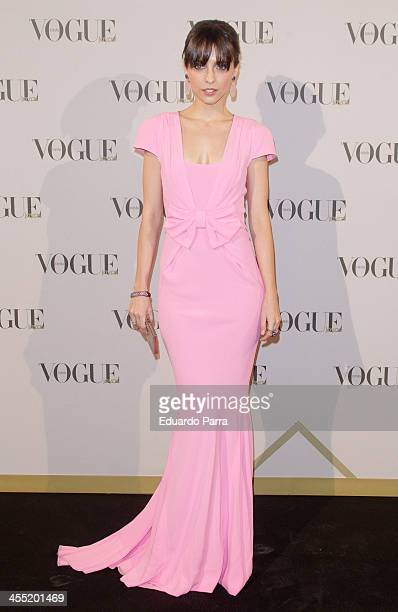 Actress Leticia Dolera attends Vogue joyas 2013 awards photocall at Madrid stock exchange on December 11 2013 in Madrid Spain