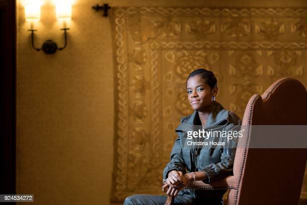 Actress Letitia Wright is photographed for Los Angeles Times on February 1 2018 in Los Angeles California PUBLISHED IMAGE CREDIT MUST READ Christina...