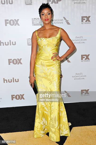 Actress LeToya Luckett attends FOX and FX's 2017 Golden Globe Awards After Party at The Beverly Hilton Hotel on January 8 2017 in Beverly Hills...
