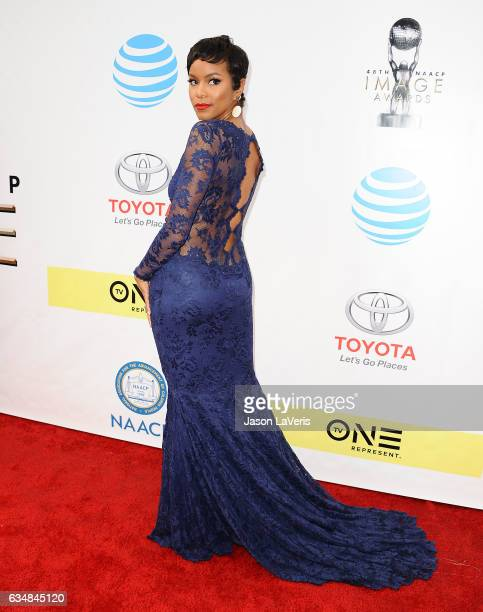 Actress LeToya Luckett attends the 48th NAACP Image Awards at Pasadena Civic Auditorium on February 11 2017 in Pasadena California