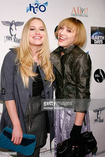 Actress Leven Rambin and DJ/actress Mia Moretti at The Green Lodge and Skype host the Big River Man Premiere Party on January 16 2009 in Park City...