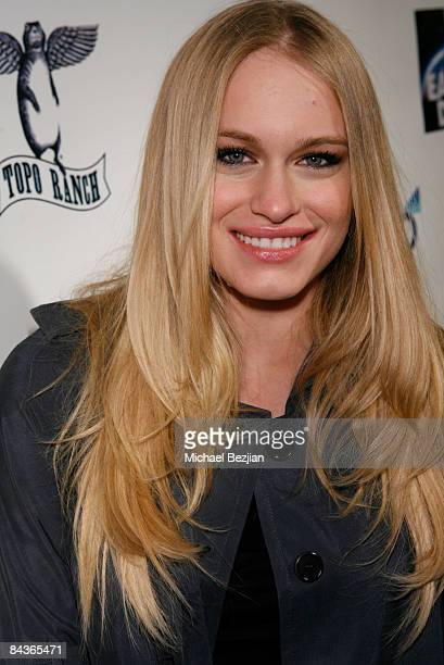 Actress Leven Rambin at The Green Lodge and Skype host the 'Big River Man' Premiere Party on January 16 2009 in Park City Utah