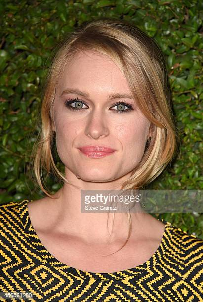 Actress Leven Rambin attends Claiborne Swanson Frank's Young Hollywood book launch hosted by Michael Kors at Private Residence on October 2 2014 in...