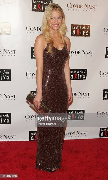Actress Leven Rambin attends The Black Ball presented by Conde Nast Media Group and hosted by Alicia Keys and Iman to benefit Keep A Child Alive at...