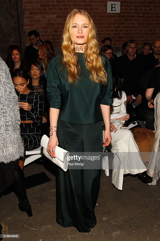 Christian Siriano - Front Row - Fall 2016 New York Fashion Week