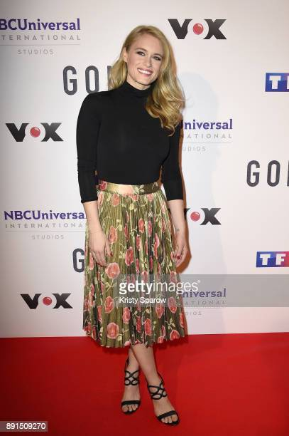 Actress Leven Rambin attends the 'Gone' Paris Photocall at Hotel Meurice on December 13 2017 in Paris France