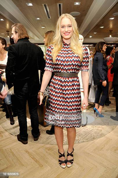 Actress Leven Rambin attends Tommy Hilfiger New West Coast Flagship Opening on Robertson Boulevard on February 13 2013 in West Hollywood California