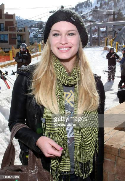 Actress Leven Rambin is seen around town on January 17 2009 in Park City Utah