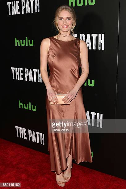 Actress Levin Rambin attends the premiere of Hulu's The Path Season 2 at Sundance Sunset Cinema on January 19 2017 in Los Angeles California