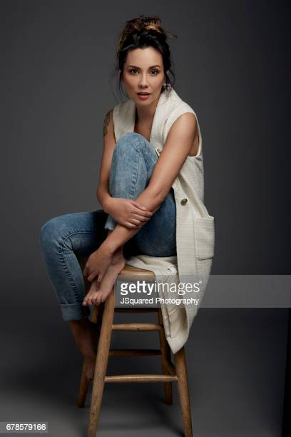 Actress Lexa Doing is photographed for Self Assignment on February 15 2017 in Los Angeles California