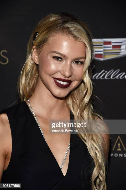 Actress Lexi Atkins arrives at the Cadillac Oscar Week Celebration at Chateau Marmont on March 1 2018 in Los Angeles California