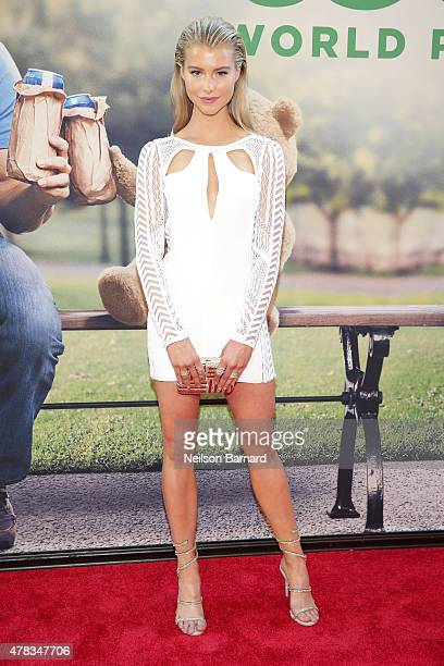Actress Lexi Atkins attends the New York Premiere of Ted 2 at the Ziegfeld Theater on June 24 2015 in New York City