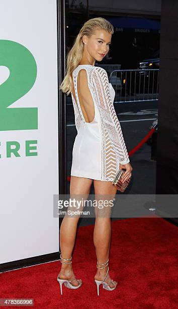 Actress Lexi Atkins attends the 'Ted 2' New York premiere at Ziegfeld Theater on June 24 2015 in New York City