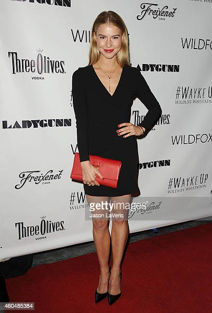 Actress Lexi Atkins attends the Wayke Up fundraiser at Sofitel Hotel on December 14 2014 in West Hollywood California