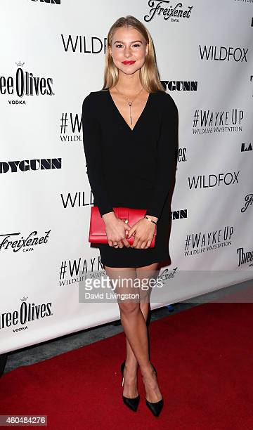 Actress Lexi Atkins attends the Wayke Up Fundraiser presented by Wildfox and Ladygunn Magazine hosted by Nikki Reed at Sofitel Hotel on December 14...