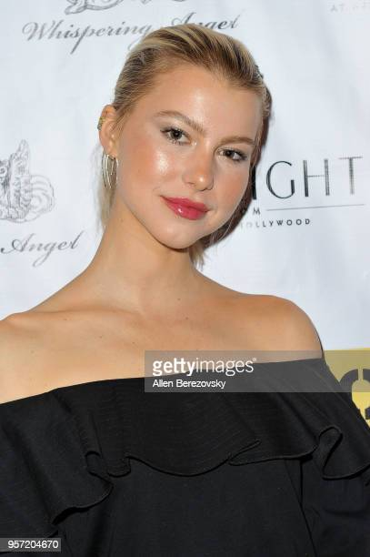 Actress Lexi Atkins attends UROK Foundation Charity Event hosted by Jaclynn Marvin Scott Jarrett founders of NYLON Magazine and POPULAR TV at The...