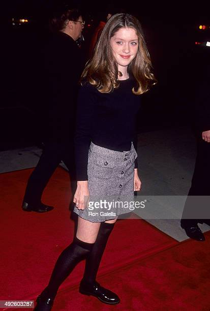 Actress Lexi Randall attends The War Beverly Hills Premiere on November 2 1994 at the Academy Theatre in Beverly Hills California