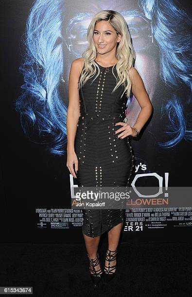 Actress Lexy Panterra arrives at the Los Angeles Premiere Boo A Madea Halloween at ArcLight Cinemas Cinerama Dome on October 17 2016 in Hollywood...