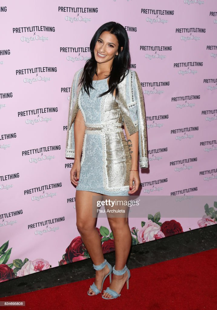 Actress Lexy Panterra attends the PrettyLittleThing X launch at Liaison Lounge on August 17, 2017 in Los Angeles, California.