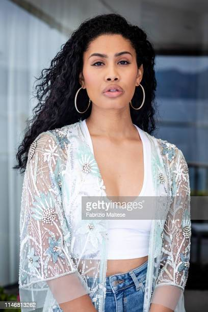 Actress Leyna Bloom poses for a portrait on May 18 2019 in Cannes France
