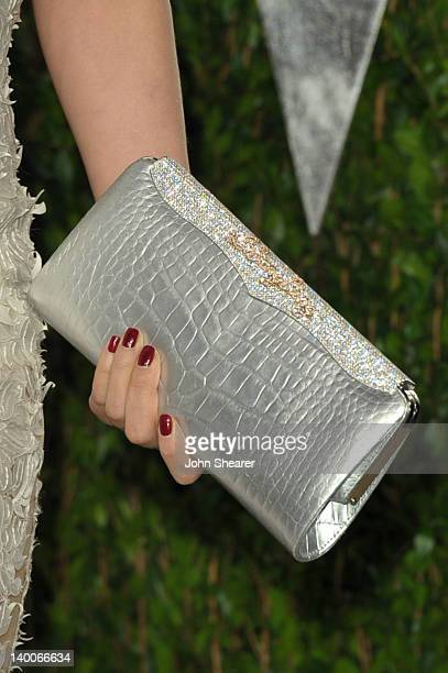 Actress Li Bingbing arrives at the 2012 Vanity Fair Oscar Party hosted by Graydon Carter at Sunset Tower on February 26 2012 in West Hollywood...