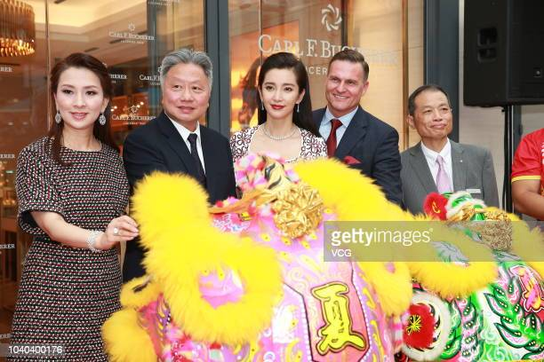 Actress Li Bingbing attends Carl F Bucherer event on September 19 2018 in Hong Kong China