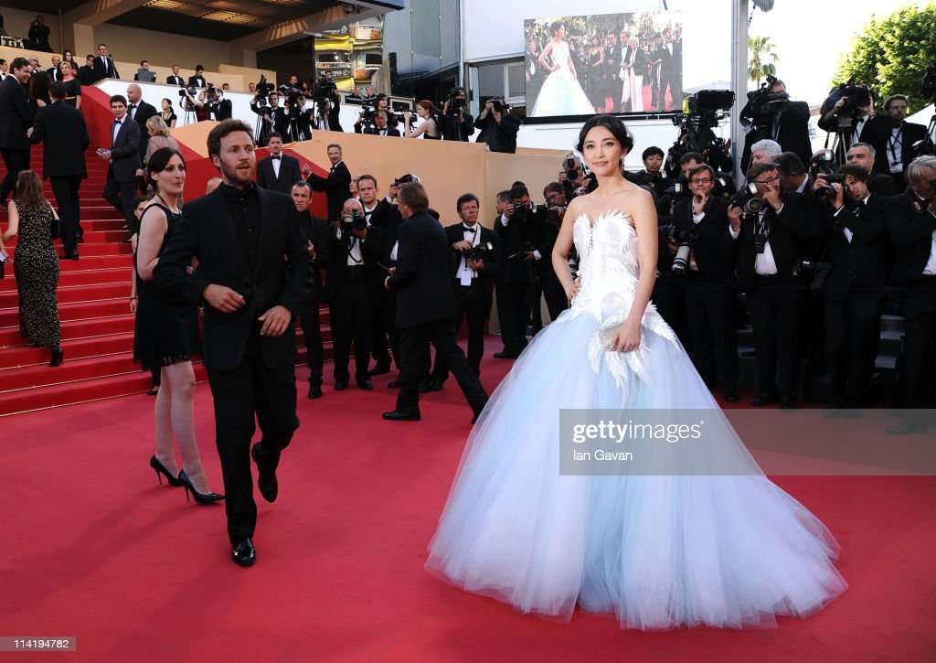 Actress Li Bingbing attends 'The Artist' premiere at the Palais des Festivals during the 64th Annual Cannes Film Festival on May 15, 2011 in Cannes, France.