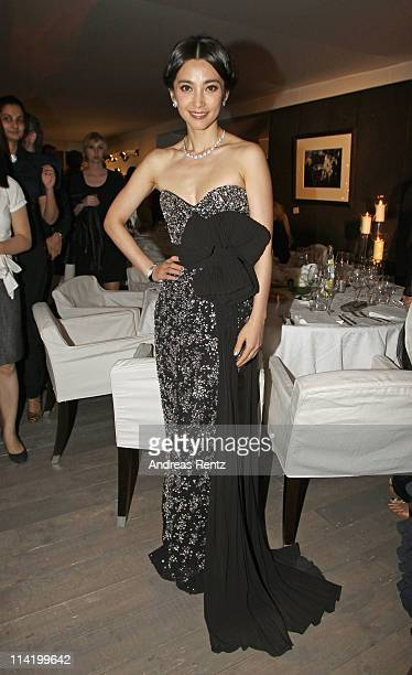 Actress Li Bingbing attends the IWC Presents Peter Lindbergh Exhibition during the 64th Cannes Film Festival on May 15 2011 in Cannes France