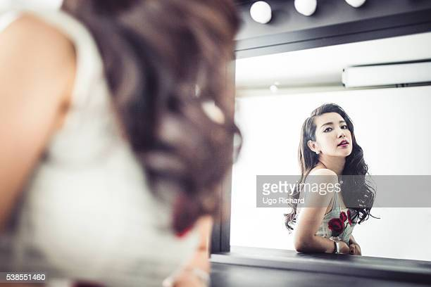 Actress Li Bingbing is photographed for Self Assignment on May 15 2016 in Cannes France