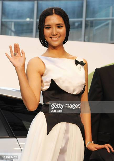Actress Li Tao attends the 24th Tokyo International Film Festival Opening Ceremony at Roppongi Hills on October 22 2011 in Tokyo Japan