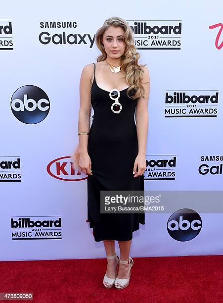 Actress Lia Marie Johnson attends the 2015 Billboard Music Awards at MGM Grand Garden Arena on May 17 2015 in Las Vegas Nevada