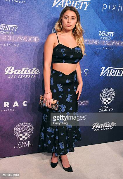 Actress Lia Marie Johnson attends Variety's Power of Young Hollywood event presented by Pixhug with platinum sponsor Vince Camuto at NeueHouse...