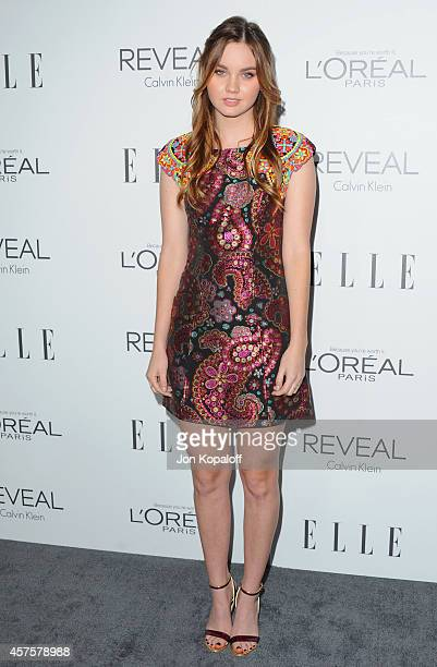 Actress Liana Liberato arrives at the 21st Annual ELLE Women In Hollywood Awards at Four Seasons Hotel Los Angeles at Beverly Hills on October 20,...