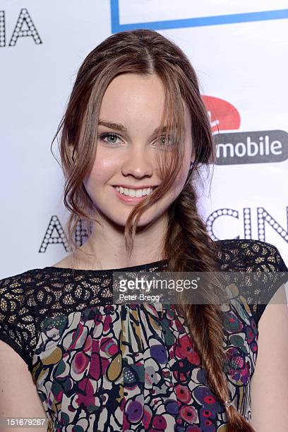 "Actress Liana Liberato attends the ""Writers"" Post Premiere Reception at the Virgin Mobile Arts & Cinema Centre at the 2012 Toronto International Film..."