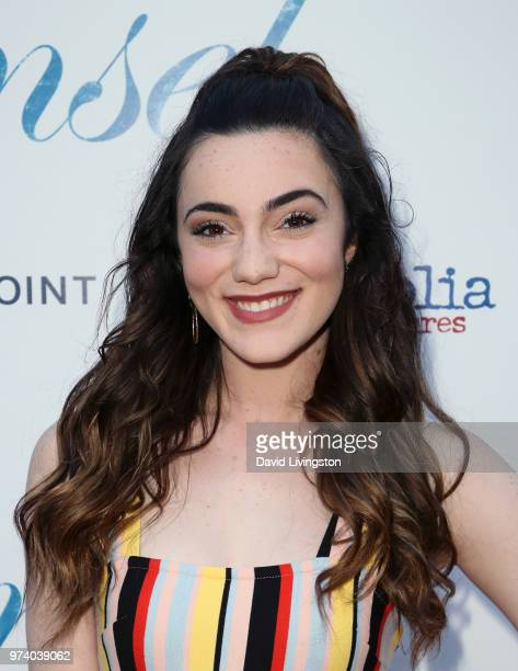 Actress Liana Ramirez attends Magnolia Pictures' 'Damsel' premiere at ArcLight Hollywood on June 13 2018 in Hollywood California