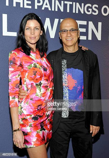 Actress Liberty Ross and Apple Music's Jimmy Iovine attend the Hammer Museum Gala in Garden sponsored by Bottega Veneta at Hammer Museum on October...