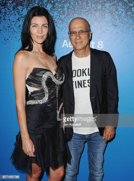 Actress Liberty Ross and Jimmy Iovine arrive at 'Carpool Karaoke The Series' On Apple Music Launch Party at Chateau Marmont on August 7 2017 in Los...