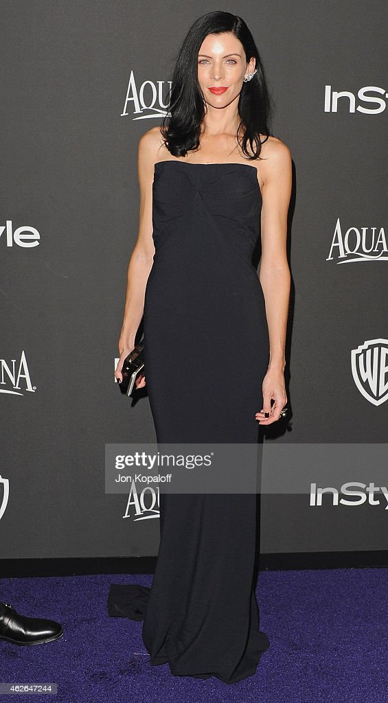 Actress Liberty Ross arrives at the 16th Annual Warner Bros. And InStyle Post-Golden Globe Party at The Beverly Hilton Hotel on January 11, 2015 in Beverly Hills, California.