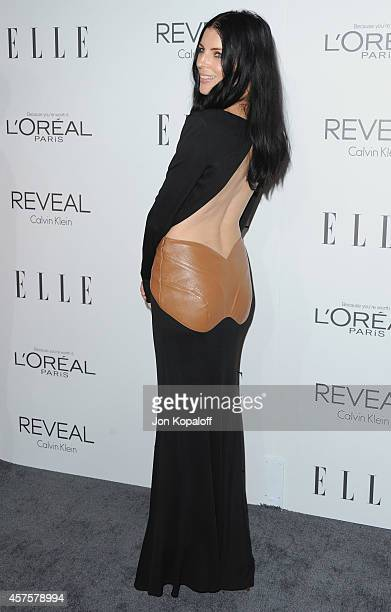 Actress Liberty Ross arrives at the 21st Annual ELLE Women In Hollywood Awards at Four Seasons Hotel Los Angeles at Beverly Hills on October 20 2014...