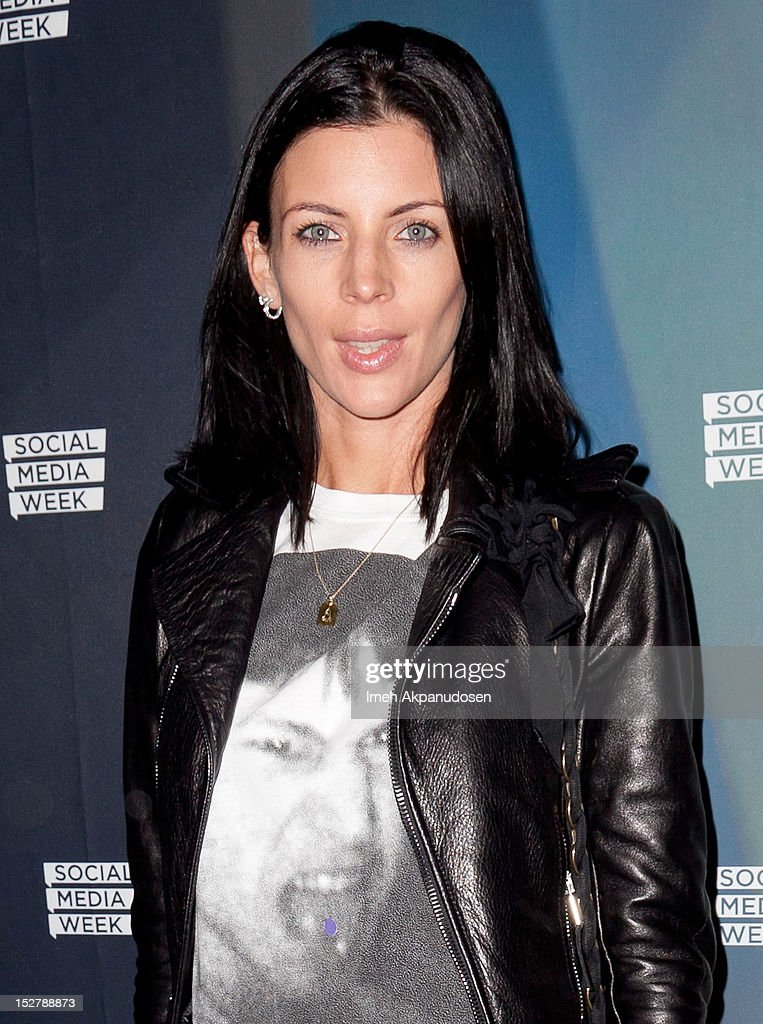 Actress Liberty Ross (ring detail) attends a Janelle Monae Nokia Music Launch Concert at Club Nokia with Janelle Monae on September 25, 2012 in Los Angeles, California.