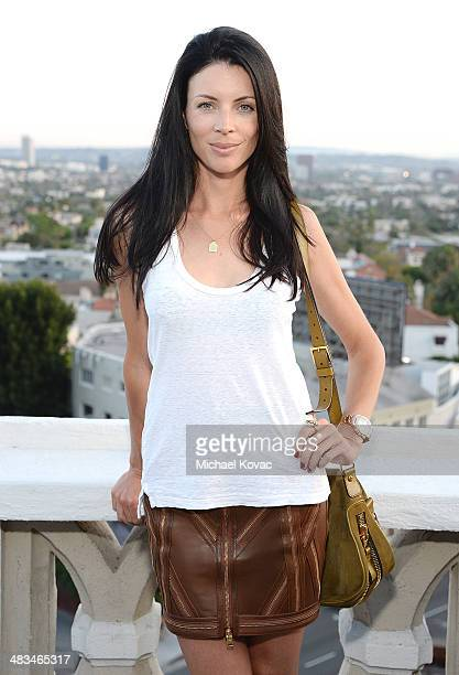 Actress Liberty Ross attends Kate Hudson celebrates the Little Black Dress Collection for Ann Taylor at Chateau Marmont on April 8 2014 in Los...