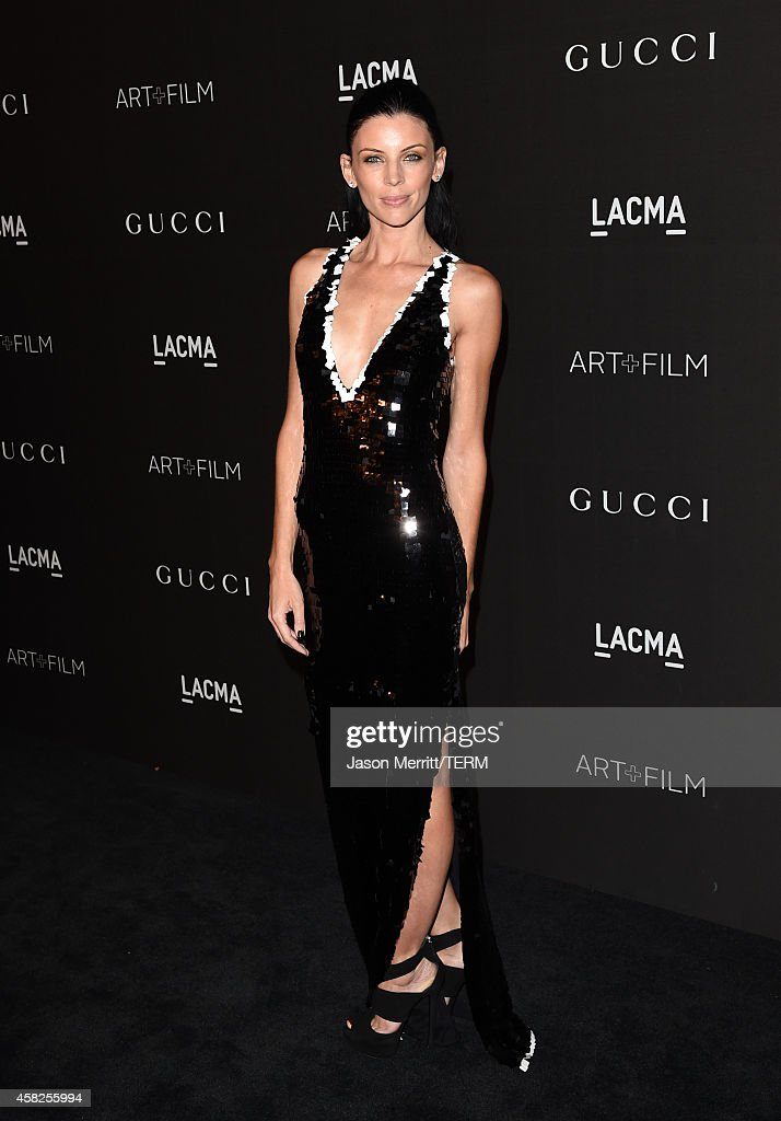 Actress Liberty Ross attends the 2014 LACMA Art + Film Gala honoring Barbara Kruger and Quentin Tarantino presented by Gucci at LACMA on November 1, 2014 in Los Angeles, California.