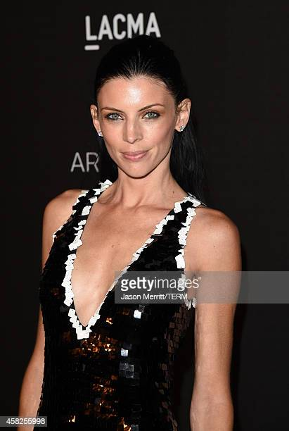 Actress Liberty Ross attends the 2014 LACMA Art Film Gala honoring Barbara Kruger and Quentin Tarantino presented by Gucci at LACMA on November 1...