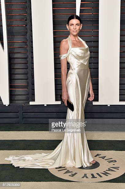 Actress Liberty Ross attends the 2016 Vanity Fair Oscar Party Hosted By Graydon Carter at the Wallis Annenberg Center for the Performing Arts on...