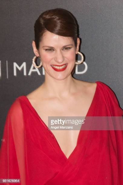 Actress Lidia San Jose attends 'The Best Day Of My Life' Madrid premiere at Callao cinema on March 13 2018 in Madrid Spain